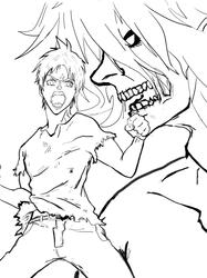 Eren Line Art