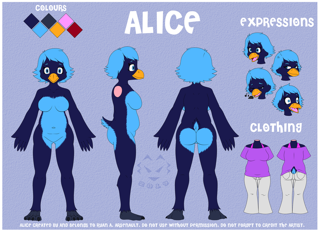 Alice Reference 2019 (SFW)