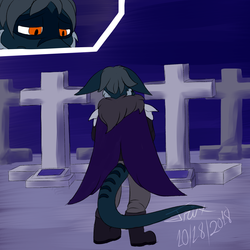 Spoopy Challenge Day 18: Cemetery