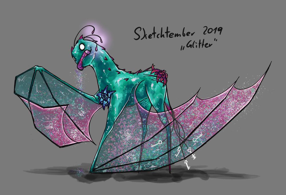 """Sketchtember 2019 """"Glitter"""""""