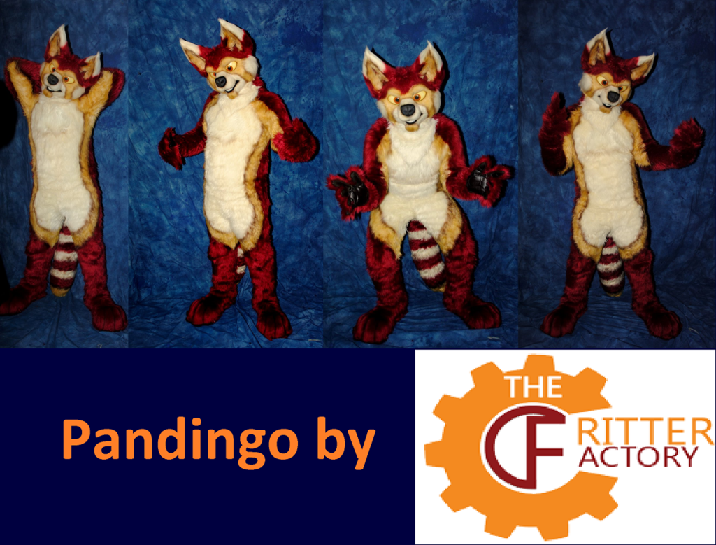 Pandingo Fursuit by The Critter Factory