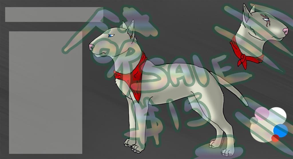 FOR SALE Bull Terrier Ref