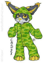 Codyx - Chibi Onesie Badge