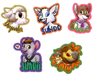 Buncha badges