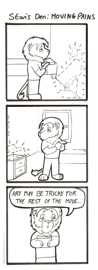 Most recent image: Stan's Den - Moving Pains