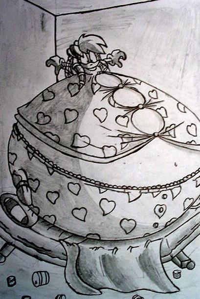 Mar 6, 2005. sketch Fat Julie-su 4.
