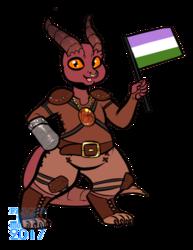 MalaclypseV Pride Chibi