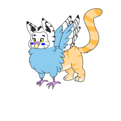 A small gryphon