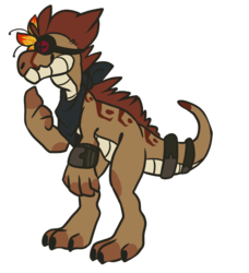 Feral Chibi Commission