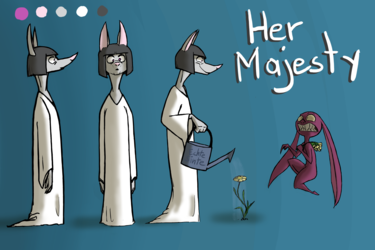 Her Majesty - Somewhat of a Character Sheet