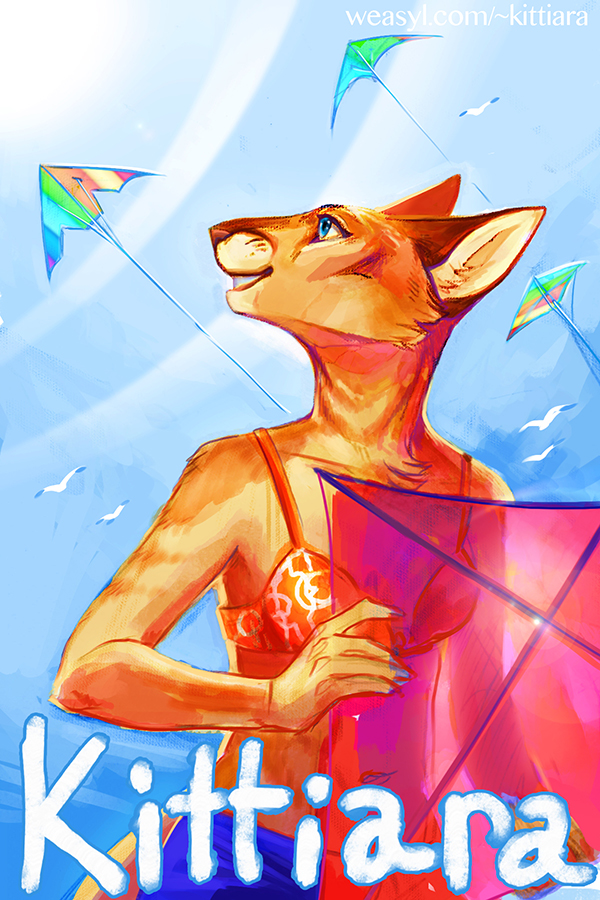 Beach Kites - AC Badge