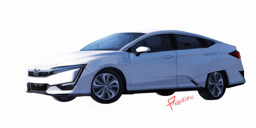 Honda Clarity PHEV study