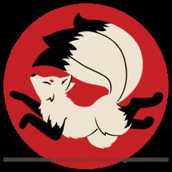 Three-Tailed Kitsune Shirt Design!
