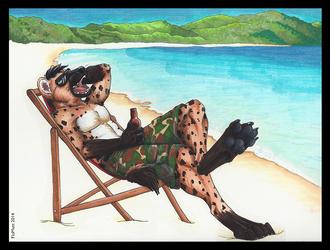 Beach Pinup - Ceph