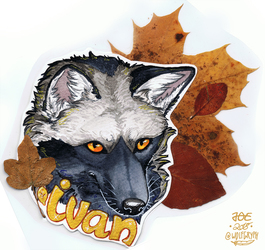 Autumn Badge - Ivan
