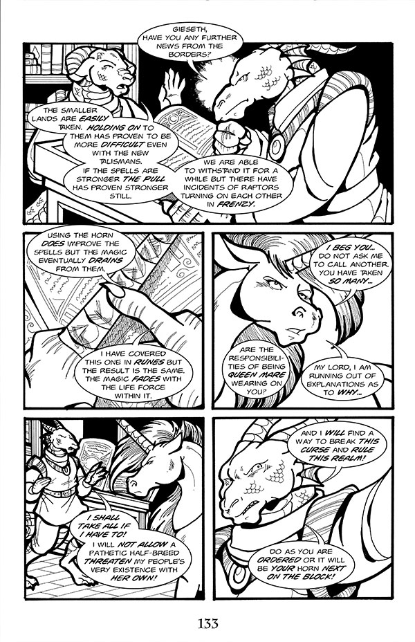 EGORAVEN: Heir of the First Unicorn 05 [ISSUE 05]
