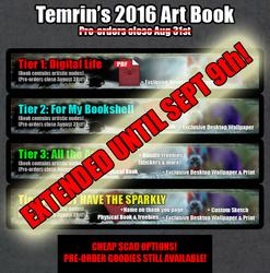 Art Book Pre-orders CLOSE TOMORROW Sept9th