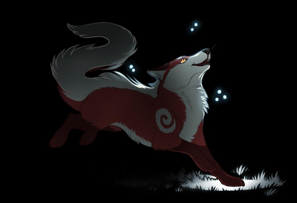 a hella cute foxdragon