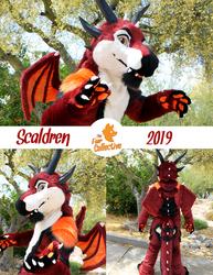 Scaldren the Dragon!