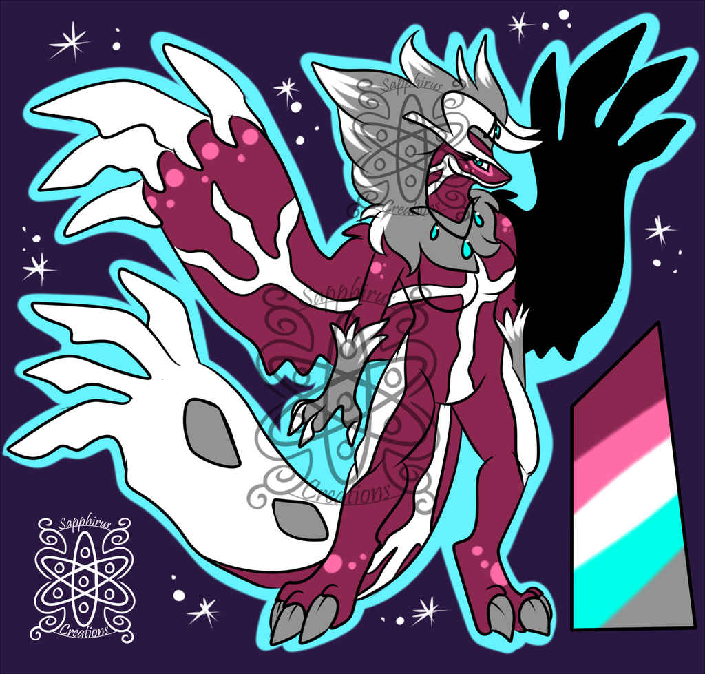 Female Shiny Yveltal +Design+ (SOLD)