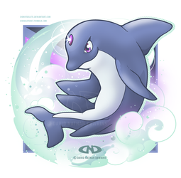 Attack of the Psychic Dolphin Pokemon