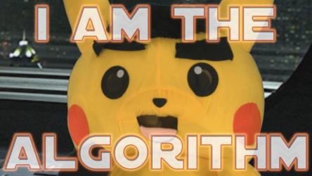 "Mascot Fursuiting: Chancellor Ace Palpa-Spade the Pikachu Is ""The Algorithm"""