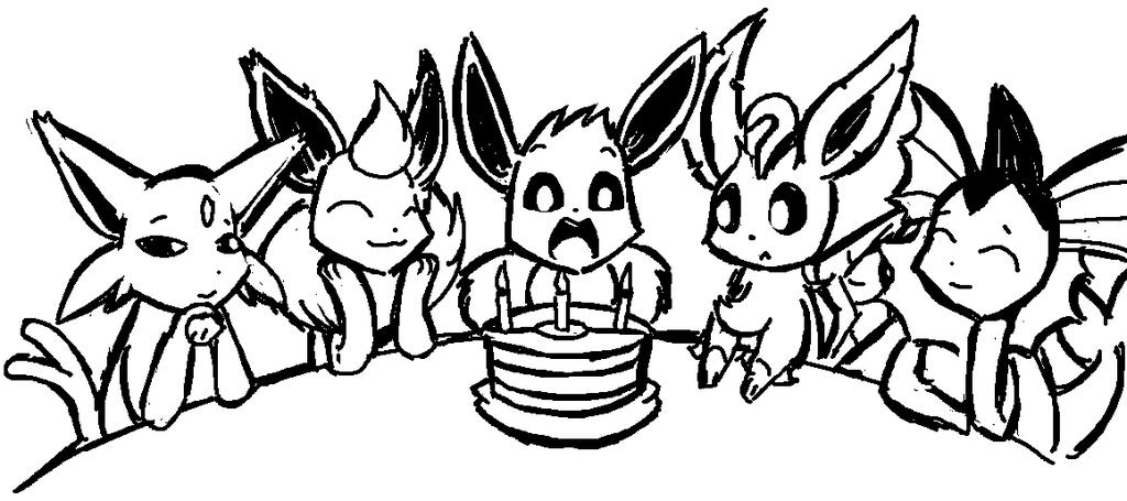Eevee Birthday Party!