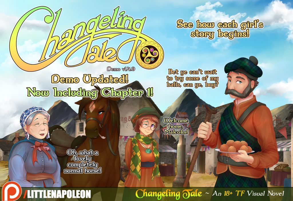Most recent image: Changeling Tale - New Demo Content