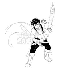 Inktober Swords