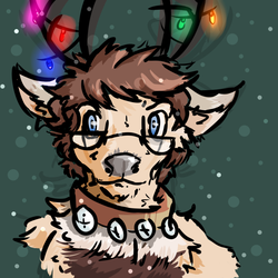 Rowdy the Reindeer!