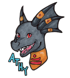 Athy Headshot badge
