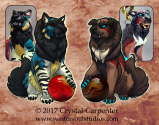 Character Auction - Bahram and Firuzeh - Closed