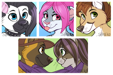 Icon Commissions - Batch 23