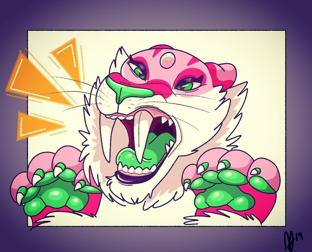 Big roar!