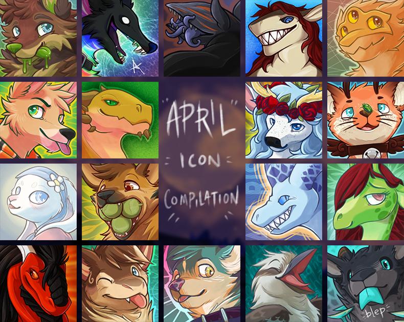 [com] April Icon Compilation!