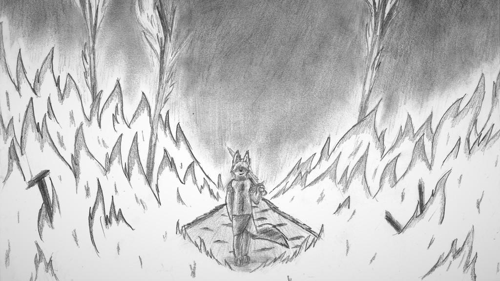 In the Fire (Desktop Wallpaper)