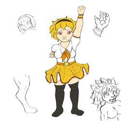 Magicalgirl lion