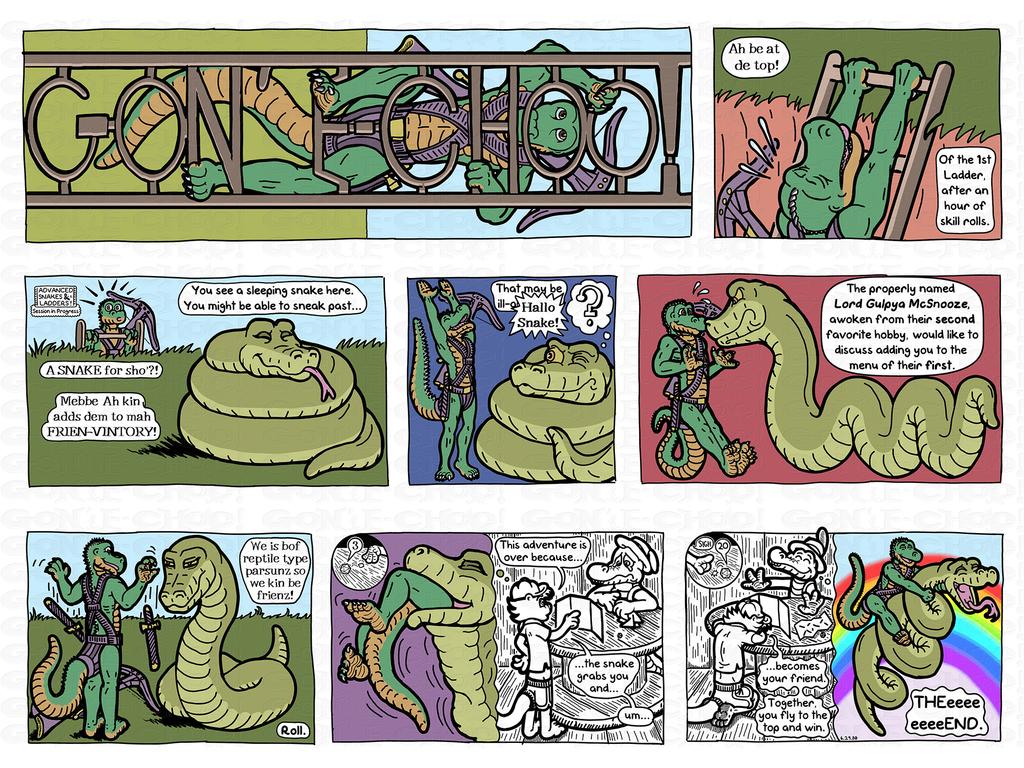 Gon' E-Choo! Strip 56 Color Sunday (www.gonechoo.com)