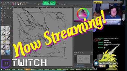 Twitch stream is live!