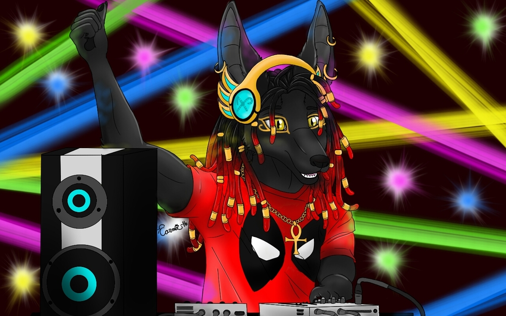 Anubis DJ (Father's Day Gift)