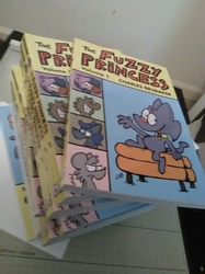 THE FUZZY PRINCESS VOL. 1 Color book now available