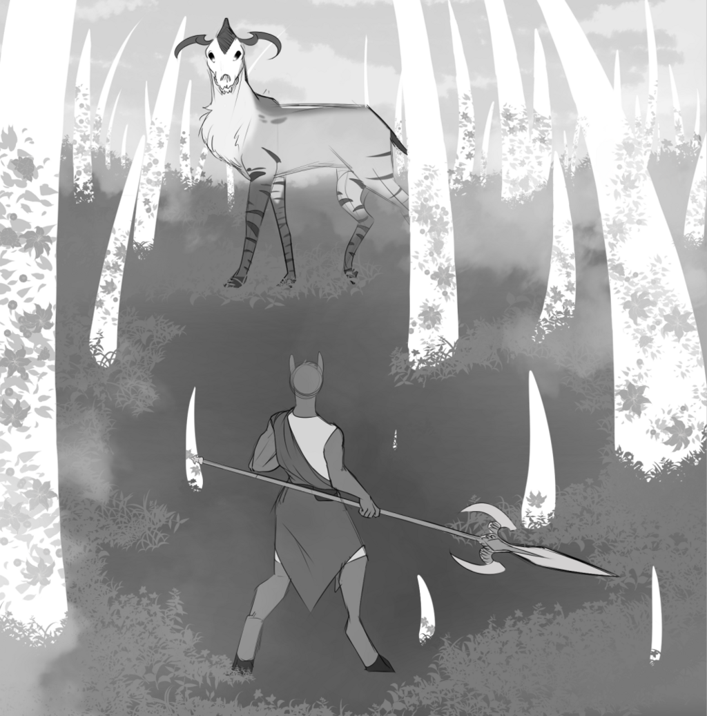 Kaska and the Rotstag (Short story)