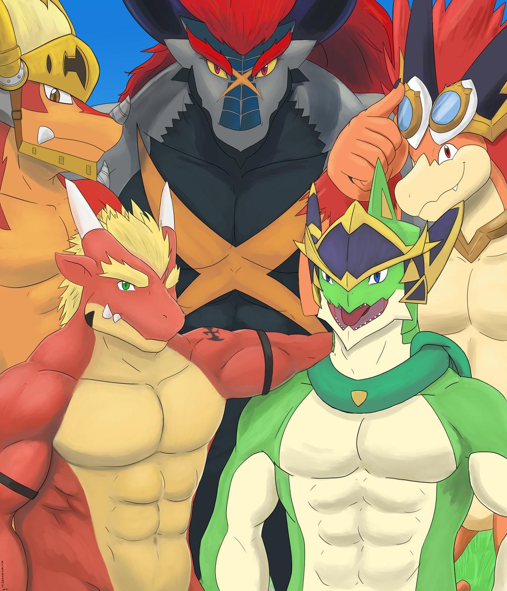 Most recent image: [Commission] Dragon Buddies