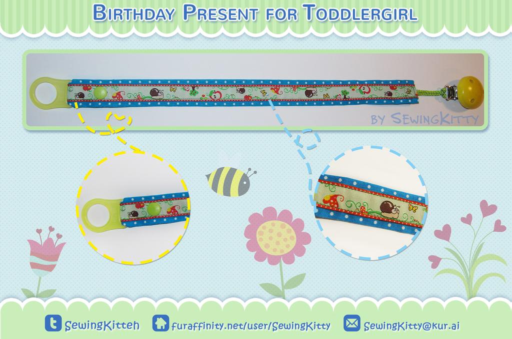 Birthday present for Toddlergirl