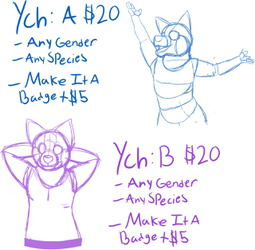 Your Character Here Poses For Sale!