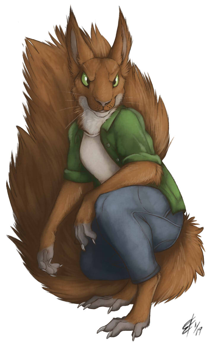 Kaerou Squirrely Commission