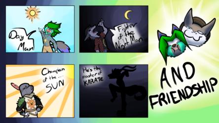 FRIENDSHIP! [Discord Raffle/Old Comic Rework]