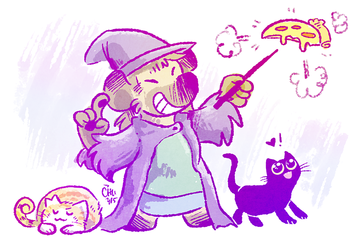 Pizza Witchsona