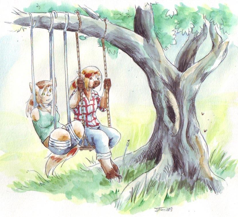 Cotton limbs- swinging