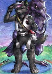 Commission - Corviknight, I choose you!